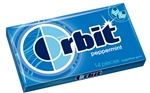 Wrigleys Orbit Peppermint Bubble Gum
