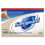 Procter and Gamble Safeguard Bath Bar Soap - 4 Oz.