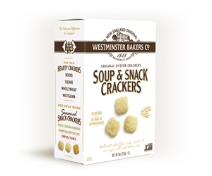 Westminster Natural Old Fashioned Oyster Crackers - 8 Oz.