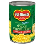 Golden Sweet Whole Kernel Corn No Salt Added - 15.25 Oz.