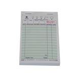 National Checking Guest Check Paper Green 13 Lines