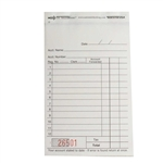 National Checking Sales Book Carbonless Two Part White - 3.5 in. x 5.63 in.