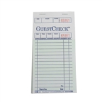 National Checking Guest Check Paper Green 19 Lines - 3.5 in. x 6.75 in.