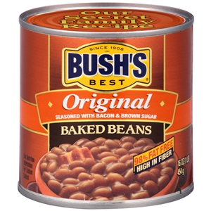Bush Bros. Original Best Bean Backed 16 Oz.