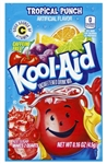 Kool Aid Tropical Punch Unsweetened Beverage Mix - 0.16 Oz. Packet