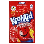 Kool Aid Cherry Unsweetened Beverage Mix - 0.13 Oz. Packet