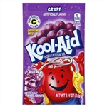 Kool Aid Grape Unsweetened Beverage Mix - 0.14 Oz. Packet