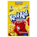 Kool Aid Lemonade Unsweetened Beverage Mix - 0.23 Oz. Packet