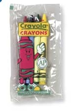 Crayola Cello Wrapped Crayon 4 Color