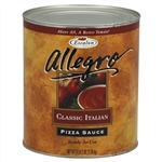 Allegro Classic Italian Pizza Sauce - 105 Oz. Can