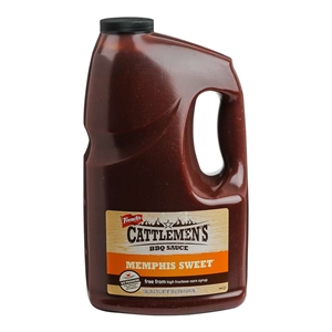 Frenchs Cattlemens Memphis Masters Reserve Sweet Barbecue Sauce - 1 Gal.