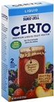 Certo Premium Liquid Fruit Pectin - 6 Oz. Box