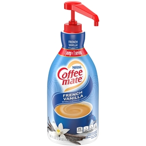 Nestle Coffee Mate French Vanilla Creamer With Pump - 1.5 Liter