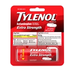 Tylenol Extra Strength Vial Blister 144 Boxes of 10 Tablets