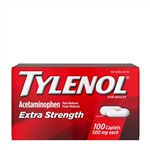 Tylenol Extra Strength Caplets 48 Boxes of 100 Tablets in Bulk