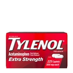 Tylenol Extra Strength caplet 24 Boxes of 225 Tablets