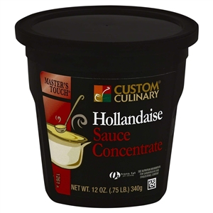 Custom Culinary Masters Touch Hollandaise Sauce Concentrate - 12 Oz.