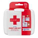 Johnson and Johnson Travel Size First Aid Kit