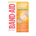 Band Aid Antibiotic Assorted 20S Bandage
