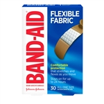 Johnson and Johnson All One Size 30s Flexible Fabric Band-Aid