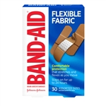 Johnson and Johnson Assorted 30s Flexible Fabric Band-Aid