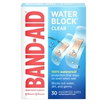 Band-Aid Water Block Plus Clear Assorted 30s Bandage