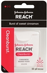 Reach Clean Burst Dental Cinnamon Floss - 55 Yds.