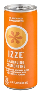 Izze Beverage Fortified Clementine Can - 8.4 Oz.