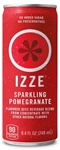 Izze Beverage Fortified Pomogranate Juice Can - 8.4 Oz.