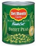 Canned Fancy 4 Sieve Lakeside Sweet Peas