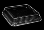 Handi-Foil Rectangular Plastic Dome Lid Fits for 4048