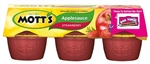 Motts Fruitsations Apple Sauce Strawberry - 4 Oz.