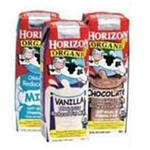 White Wave Reduced Fat Horizon Strawberry Milk - 8 Oz.