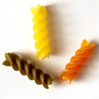 American Italian Ravarino and Freschi Tri Color Spiral Pasta