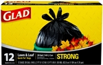 Glad Trash Can Liners Black - 39 Gal.