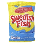 Swedish Fish Candy Red Peg Bag - 8 Oz.