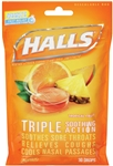 Cough Drop Tropical Fruit 30 Piece