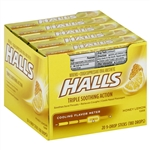Cadbury Adams Honey Lemon Halls 9 Pieces