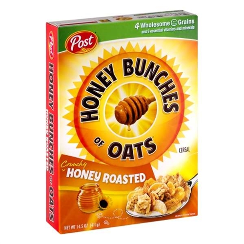 Ralston Cereal Honey Bunches Of Oats Roasted