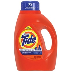Procter and Gamble Tide 2x Original Liquid Laundry Detergent - 50 Oz.