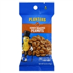 Planters Honey Roasted Peanuts - 6 Oz. Bag