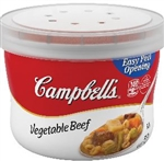 Red and White Vegetable Beef Bowl Soup - 15.4 oz.