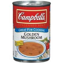 Campbell's Red and White Golden Mushroom Soup 10.75 Oz.