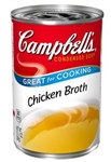 Campbell's Broth Red & White Chicken 12-10.5 ounce