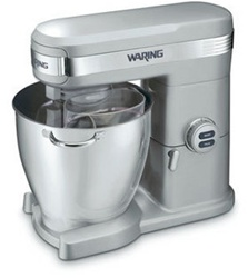 Waring Commercial Stand Mixer - 7 Qt. Heavy-duty 1+ HP, 850 watt motor