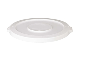 Continental Plastic Huskee Lid White - 32 Gal.