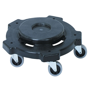 Continental Plastic Round Huskee Dolly - 18 in. x 5 in.