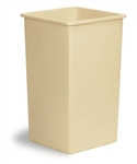 Continental Swingline Waste Receptacle Beige - 25 Gal.