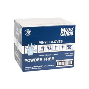 Handgard Eclipse Value Large Powder Free PVC Glove