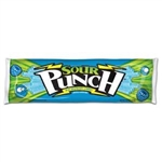 American Licorice Sour Punch Straws 4.5 oz. Blue Raspberry King Size Candy